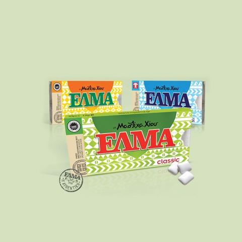 ELMA chewing gum